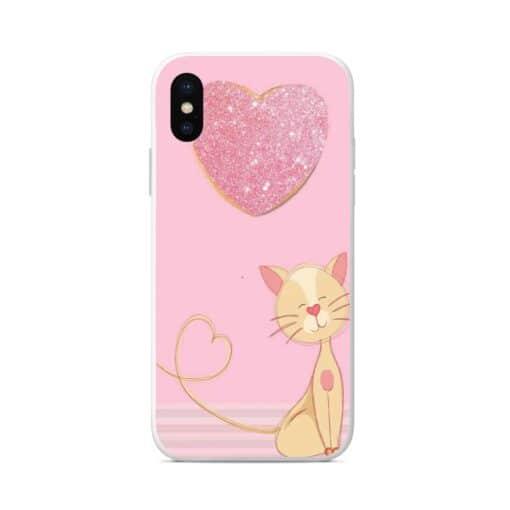 силиконов кейс cute cat