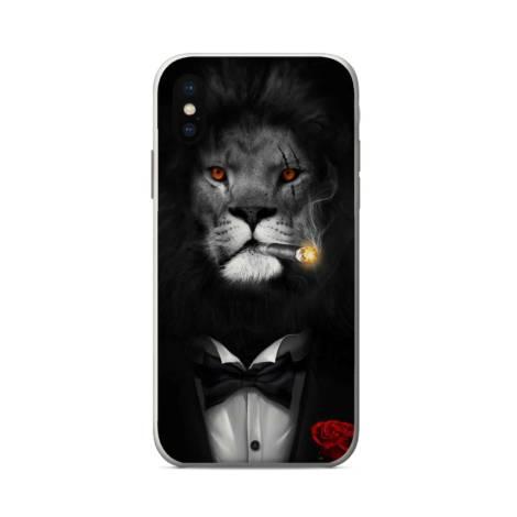 силиконов кейс king lion