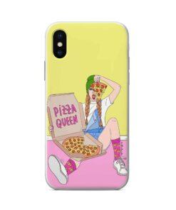 силиконов кейс pizza queen