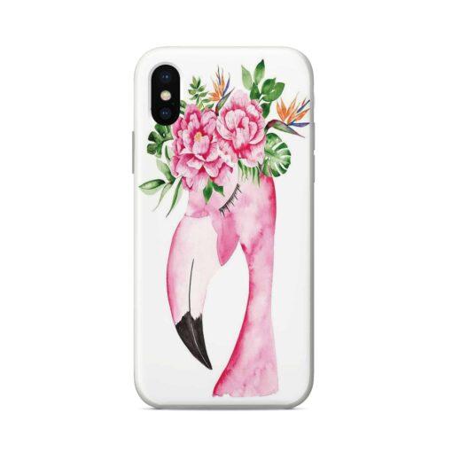 силиконов кейс queen flamingo