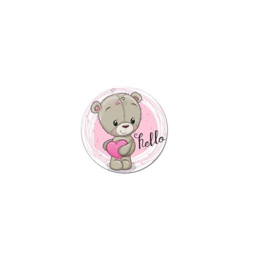 Попсокет Bear Super Cute попсокет по ваш дизайн или попсокет с ваша снимка
