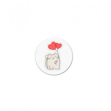 попсокет cat love попсокет по ваш дизайн или с ваша снимка