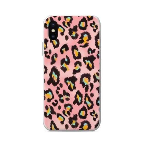 силиконов кейс pink leopard