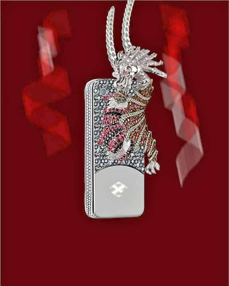 кейс-за-телефон-с-инкрустирани-диаманти-и-дракон