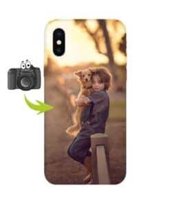 кейс със снимка за iPhone X