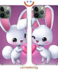кейсове за двойки Bunnies Love