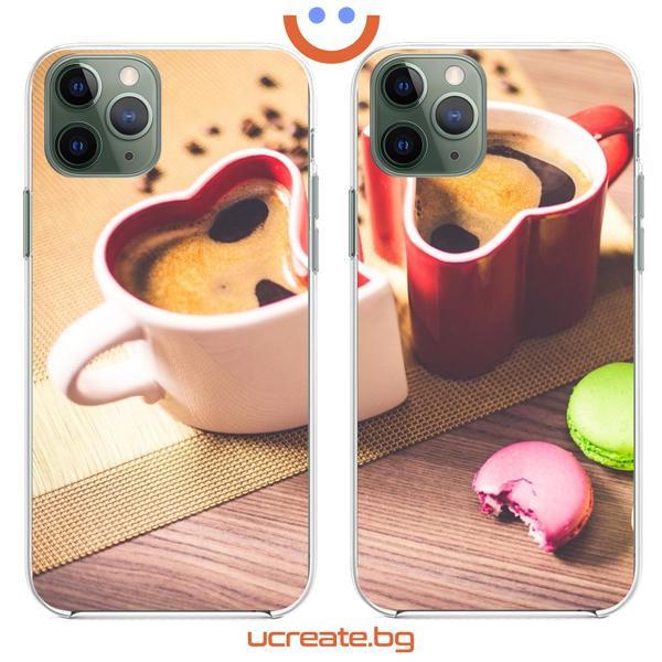 кейсове за двойки Coffee cup lovers