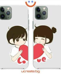кейсове за двойки Cute Couple