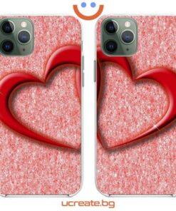 кейсове за двойки Hearts Crossing
