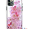 кейс със снимка вишнев цвят