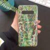 Силиконов кейс ANIMAL SKINS зелен питон 2 – имитация на кожа