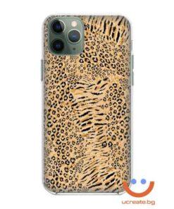 кейс със снимка кожа гепард animal skins