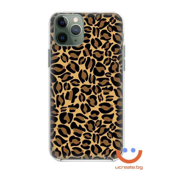 кейс със снимка кожа див леопард