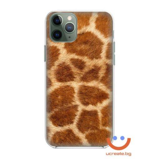 кейс със снимка кожа тигър animal skins