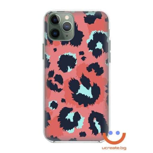 кейс със снимка кожа цветен леопард animal skins