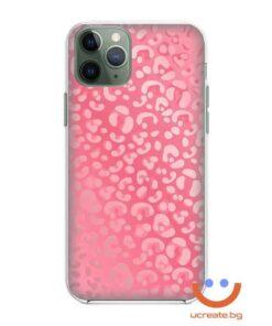 кейс със снимка кожа glossy pink