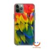 кейс със снимка пера папагал ара
