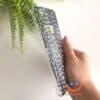 силиконов кейс за Redmi Note 8 animal skins черен крокодил имитация на кожа