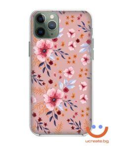 силиконов кейс със снимка Flower Rain