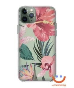 силиконов кейс Beauty jungle flowers