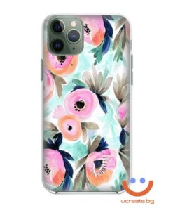 силиконов кейс Magical flowers калъф с цветя