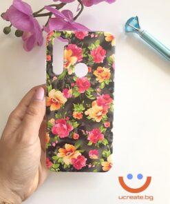 силиконов кейс roses garden калъф с цветя ucreate