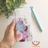 силиконов кейс Simple fancy flowers калъф с цветя ucreate 2