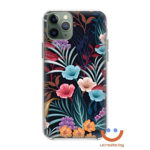 силиконов кейс small happy flowers калъф с цветя