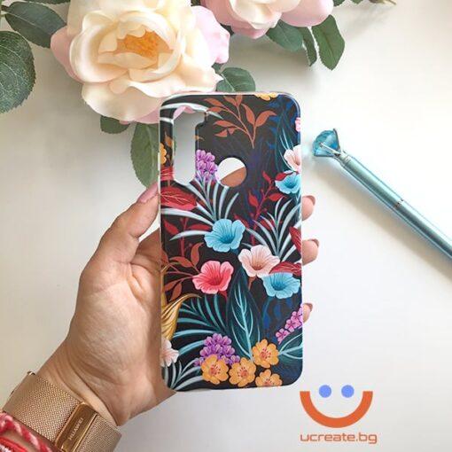 силиконов кейс small happy flowers калъф с цветя ucreate