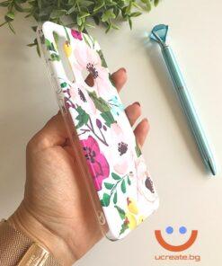 силиконов кейс spring beauty flowers калъф с цветя ucreate