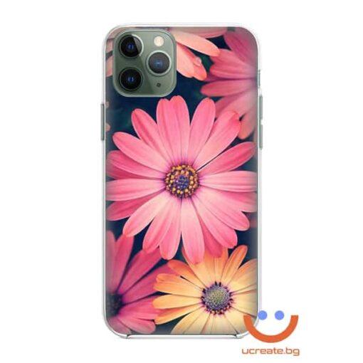 силиконов кейс sunny trendy flowers калъф с цветя