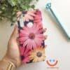 силиконов кейс sunny trendy flowers калъф с цветя ucreate 2