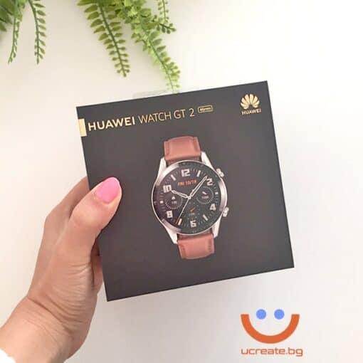 Смарт часовник Huawei Watch GT 2 pebble brown