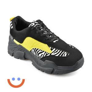 модни тенденции маратонки animal skin зебра