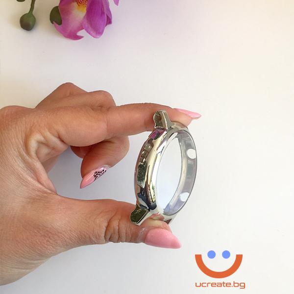 протектор за смарт часовник huawei gt2 42mm метал