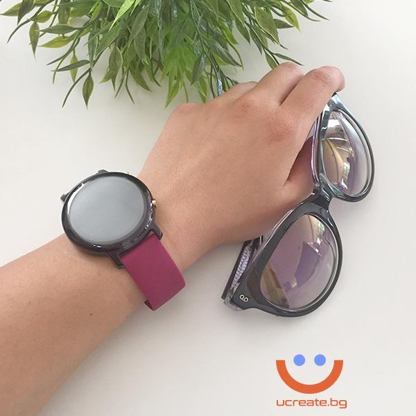 протектор и каишка за дамски смарт часовник huawei gt2 42mm