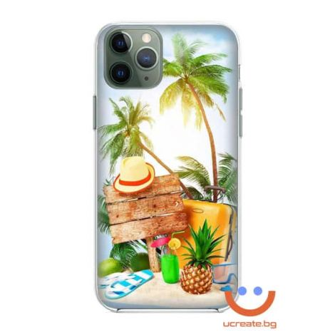 силиконов кейс Exotic Island Vacation ucreate