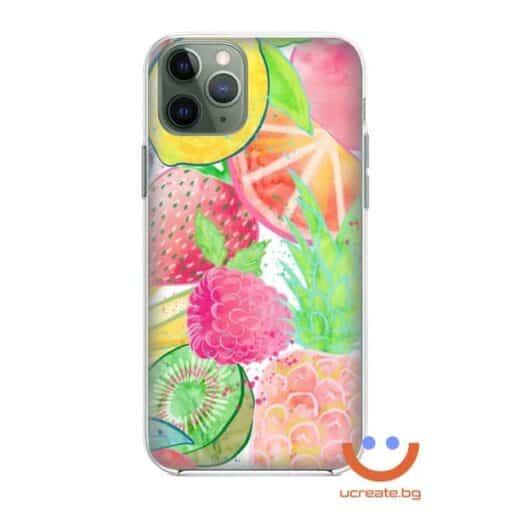 силиконов кейс Summer fruits case ucreate