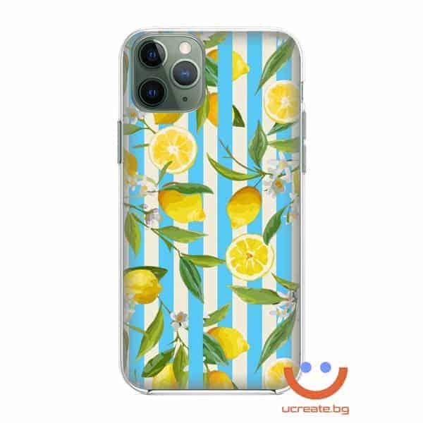 силиконов кейс summer Lemon Tree