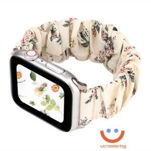 дамска каишка за apple watch 38mm леопард