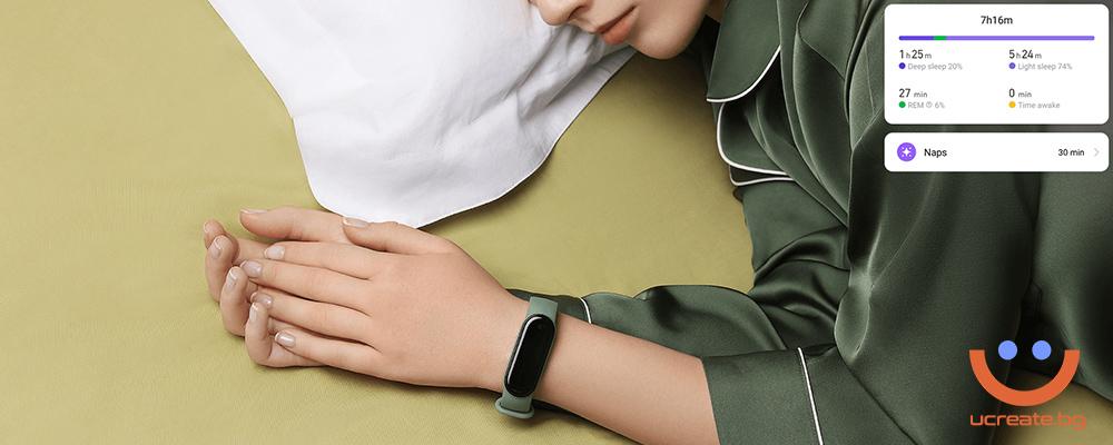 фитнес гривна Xiaomi Mi Band 5 контрол над съня