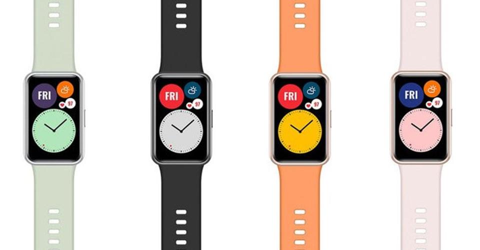 дамски март часовник Huawei Watch Fit каишки