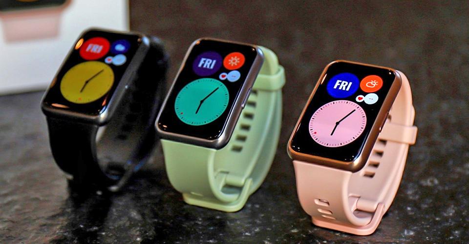 дамски март часовник Huawei Watch Fit цветове