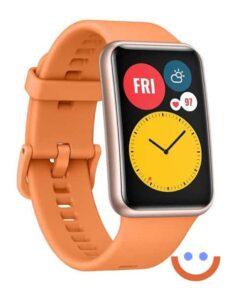 смарт часовник Huawei Watch Fit оранжев