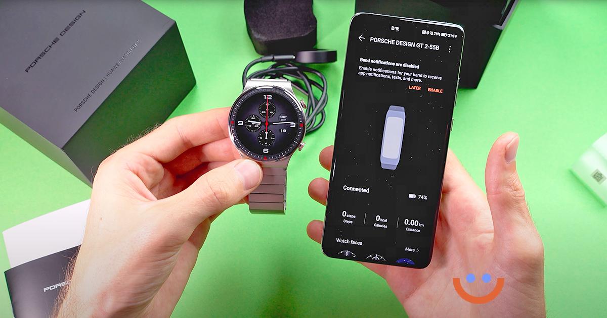 Huawei Watch GT2 Pro Porsche Design цена