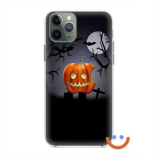 калъф за телефон за хeлоуин Apple Pumpkin