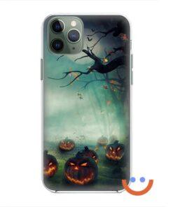 калъф за телефон за хeлоуин creepy pumpkins