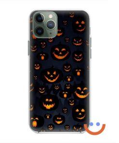 калъф за телефон за хeлоуин funny pumpkins