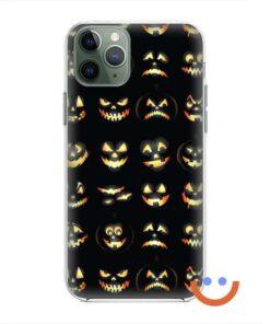 калъф за телефон за хeлоуин funny pumpkins2