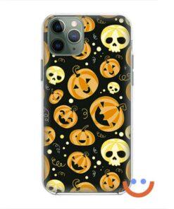 калъф за телефон за хeлоуин funny pumpkins3